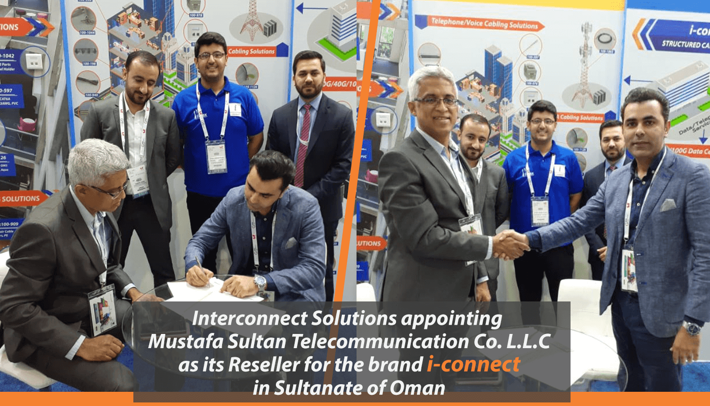 Reseller Agreement with Mustafa Sultan Telecommunication for i-connect in Oman